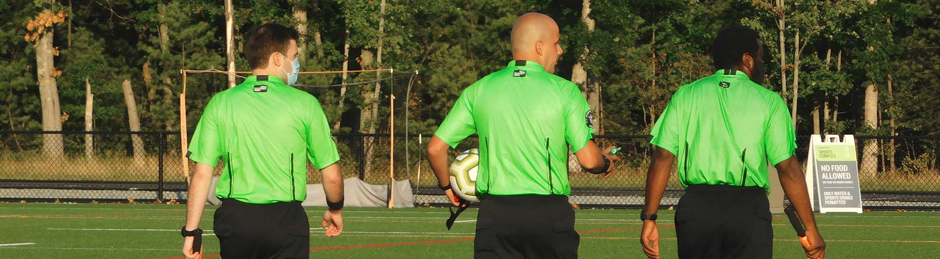 Soccer Instructor Mass State Referee
